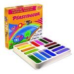 Lápices de cera de colores Plastidecor Class