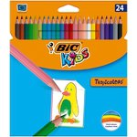 Lápices de colores hexagonales Bic Kids Tropicolors 8325669