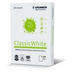 Papel Reciclado Steinbeis Classic White 80g A4