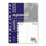 Recambio agenda anual día página 2021 Finocam Multifin 3002