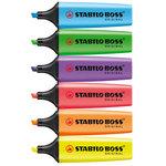 Rotulador fluorescente Stabilo Boss amarillo