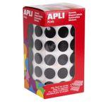 Gomets autoadhesivos permanentes redondos colores 15mm Apli 11487