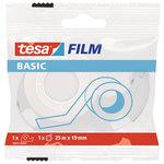 Cinta adhesiva invisible con dispensador Tesa Basic