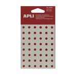 Arandelas adhesivas translúcidas Apli