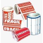 Etiqueta adhesiva preimpresa Apli frágil 50x100mm