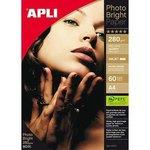 Papel fotográfico inkjet A4 280g Apli Photo Bright Pro