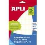 Etiquetas adhesivas manual Apli 10x16mm (810 etiquetas)