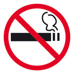 Pictograma adhesivo Prohibido Fumar Apli