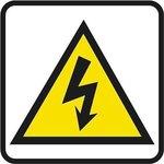 Pictograma adhesivo Riesgo eléctrico Apli