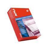 Etiquetas adhesivas impresoras matriciales Apli 88,9x36mm