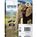 Cartucho inkjet Epson 24 Cian claro 360 páginas