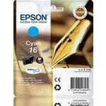 Cartucho Inkjet Epson 16 Cian 165 páginas estándar
