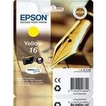 Cartucho Inkjet Epson 16 Amarillo 165 páginas estándar