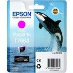 Cartucho inkjet Epson T7603 Magenta vivo 25,9 ml
