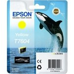 Cartucho inkjet Epson T7604 Amarillo 25,9 ml
