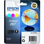 Cartucho inkjet Epson 267 Color 6,7 ml