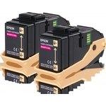 Tóner Epson AL-C9300 Pack doble Magenta 7500 páginas