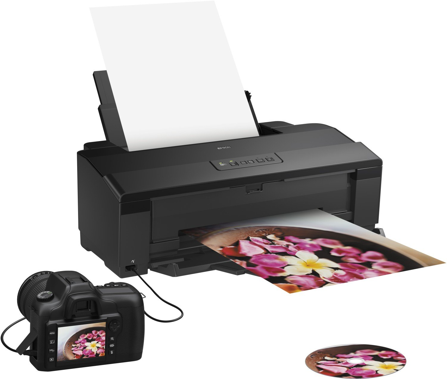 Impresora Epson Inyección Color A3+ Stylus Photo 1500W C11CB53302