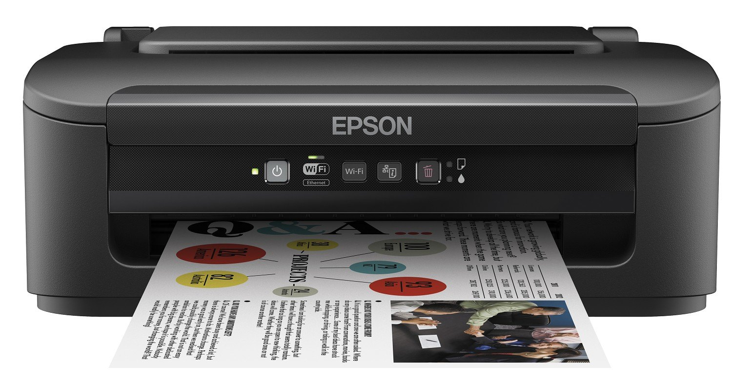 Impresora Epson Inyección Color A4 WorkForce WF-2010W