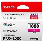 Cartucho inkjet Canon PFI-1000m Magenta  80 ml