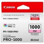 Cartucho inkjet Canon PFI-1000pm Magenta Foto  80 ml