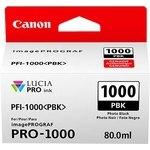 Cartucho inkjet Canon PFI-1000pbk Negro Foto  80 ml