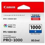 Cartucho inkjet Canon PFI-1000b Azul  80 ml