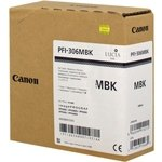 Cartucho inkjet Canon PFI-306mbk Negro Mate  330 ml