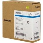 Cartucho inkjet Canon PFI-306c Cian  330 ml