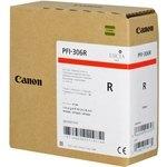 Cartucho inkjet Canon PFI-306r Rojo  330 ml