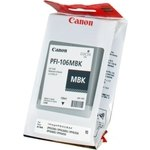 Cartucho inkjet Canon PFI-106mbk Negro Mate  130 ml