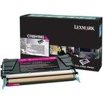 Tóner Lexmark C748 magenta  10.000 páginas