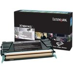 Tóner Lexmark X746 negro  12.000 páginas