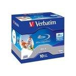 Blu-ray BD-R SL 25GB 6x imprimible Verbatim 43694