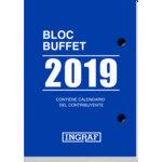 Bloque calendario sobremesa Ingraf Buffet 8,2x11,6cm 10200