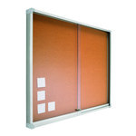 Vitrina para anuncios Planning Sisplamo 100x120cm