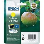 Cartucho Inkjet Epson T1294 Amarillo 470 páginas C13T12944010