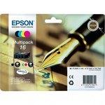 Cartucho inkjet Epson 16 Pack negro + tricolor 165 páginas