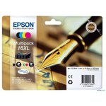 Cartucho inkjet Epson T16XL Pack multicolor