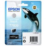 Cartucho inkjet Epson T7609 Gris claro 25,9 ml