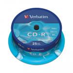 CD-R grabable 700Mb 80 minutos Verbatim Extra Protection 43432
