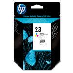 Cartucho inkjet HP 23 tri-color 620 páginas