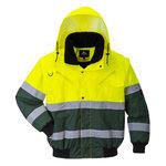 Cazadora X de alta visibilidad Amarillo/Verde S R