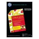 Papel fotográfico inkjet satinado A4 180g HP Professional