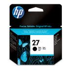 Cartucho inkjet HP 27 negro 280 páginas