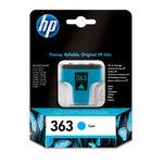 Cartucho inkjet HP 363 cian 400 páginas