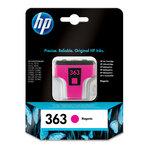 Cartucho inkjet HP 363 magenta 370 páginas