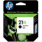 Cartucho inkjet HP 21XL de alta capacidad negro 475 páginas