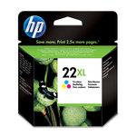 Cartucho inkjet HP 22XL de alta capacidad tri-color 415 páginas