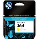 Cartucho inkjet HP 364 amarillo 300 páginas
